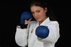 karate κοριτσιών Στοκ Εικόνες