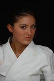 karate κοριτσιών Στοκ εικόνες με δικαίωμα ελεύθερης χρήσης