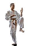 Karate παιδί εφήβων στοκ εικόνες