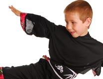 karate 12 dzieciaku Zdjęcia Royalty Free