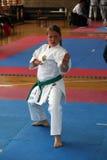 Karate. BELGRADE - APRIL 1: A 17th Karate Washido tournament April 1, 2012 in Belgrade, Serbia Stock Images