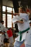 Karate. BELGRADE - APRIL 1: A 17th Karate Washido tournament April 1, 2012 in Belgrade, Serbia Royalty Free Stock Image