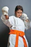 Karate royalty-vrije stock foto's