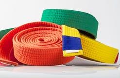 Karate Belts Royalty Free Stock Photos