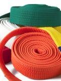 Karate Belts Stock Photos
