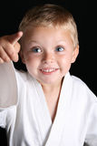 Karate Boy Royalty Free Stock Photography