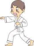Karate Boy Royalty Free Stock Photography