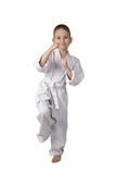 Karate chłopiec Obraz Royalty Free