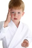Karate chop Stock Photography