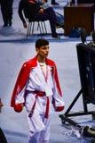 Karate 1 - de Jeugdliga Sofia 2018, 25-27 Mei stock fotografie