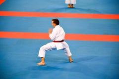 Karate 1 - de Jeugdliga Sofia 2018, 25-27 Mei royalty-vrije stock foto's