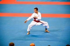 Karate 1 - de Jeugdliga Sofia 2018, 25-27 Mei stock afbeelding