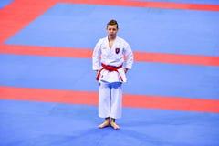 Karate 1 - de Jeugdliga Sofia 2018, 25-27 Mei royalty-vrije stock foto