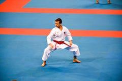 Karate 1 - de Jeugdliga Sofia 2018, 25-27 Mei stock foto's