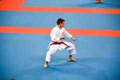 Karate 1 - de Jeugdliga Sofia 2018, 25-27 Mei royalty-vrije stock fotografie
