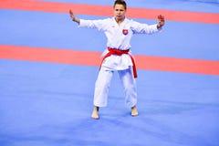 Karate 1 - de Jeugdliga Sofia 2018, 25-27 Mei royalty-vrije stock afbeelding