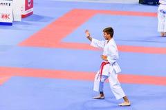 Karate 1 - de Jeugdliga Sofia 2018, 25-27 Mei stock afbeeldingen