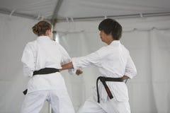 Karate Demonstration Stock Image