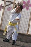 karate dzieciak obrazy stock