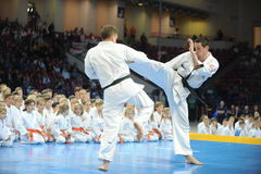 Karate European Championship Stock Image