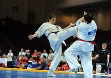 Karate European Championship Royalty Free Stock Photography