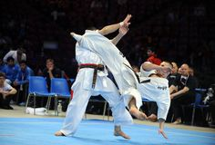 Karate European Championship Royalty Free Stock Image