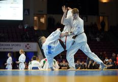 Karate European Championship Royalty Free Stock Photo