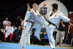 Karate European Championship Stock Photography