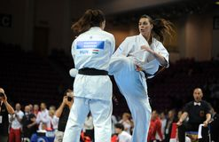 Karate European Championship Royalty Free Stock Image