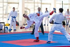 Karate EUROPOLYB Royalty Free Stock Photo