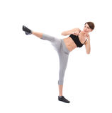 Karate exercise Stock Image