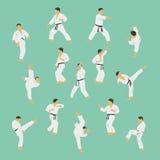 Karate. Royalty Free Stock Photos