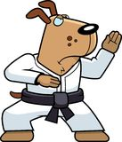 Karate-Hund stock abbildung