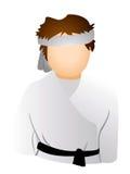 Karate Icon Royalty Free Stock Image