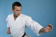 Karate kata Royalty Free Stock Photography