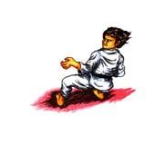 Karate Kata II (2010) Stock Images