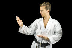 Karate kata stock photo