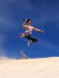 Karate Kick stock photos