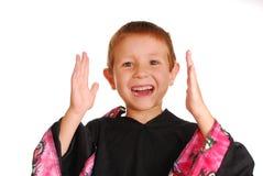 Karate Kid 15 stock afbeelding