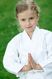 Karate kid Stock Photography