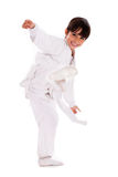 Karate Kid Royalty Free Stock Photo