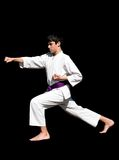 Karate kid Stock Image