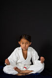 Karate kid Stock Image