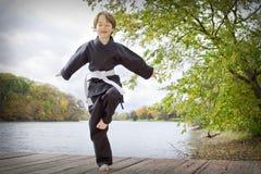 Karate Kid Fotos de archivo libres de regalías