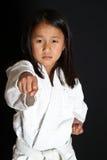 Karate Kid Imágenes de archivo libres de regalías