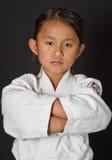 Karate Kid royalty-vrije stock foto's