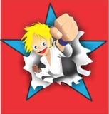 Karate Kid Fotografie Stock