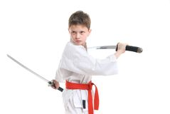 Karate Kid stock foto
