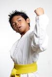 Karate Kid joven Imagen de archivo libre de regalías