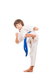 Karate kid. Stock Image